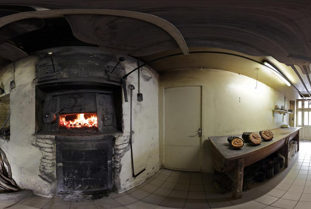 Le four traditionnel de la Boulangerie du Vast