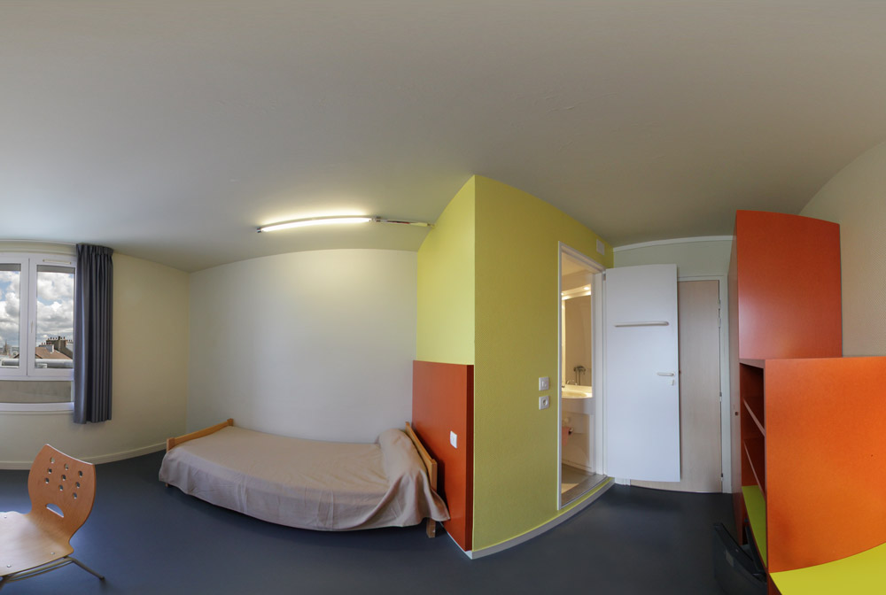 Admission Foyer Jeune Travailleur : Visite virtuelle du fjt l espace temps à cherbourg